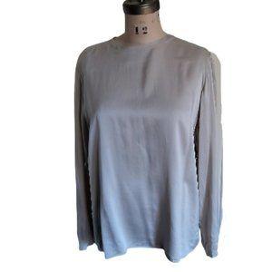 Lux Ellen Tracy 100% silk button back blouse top